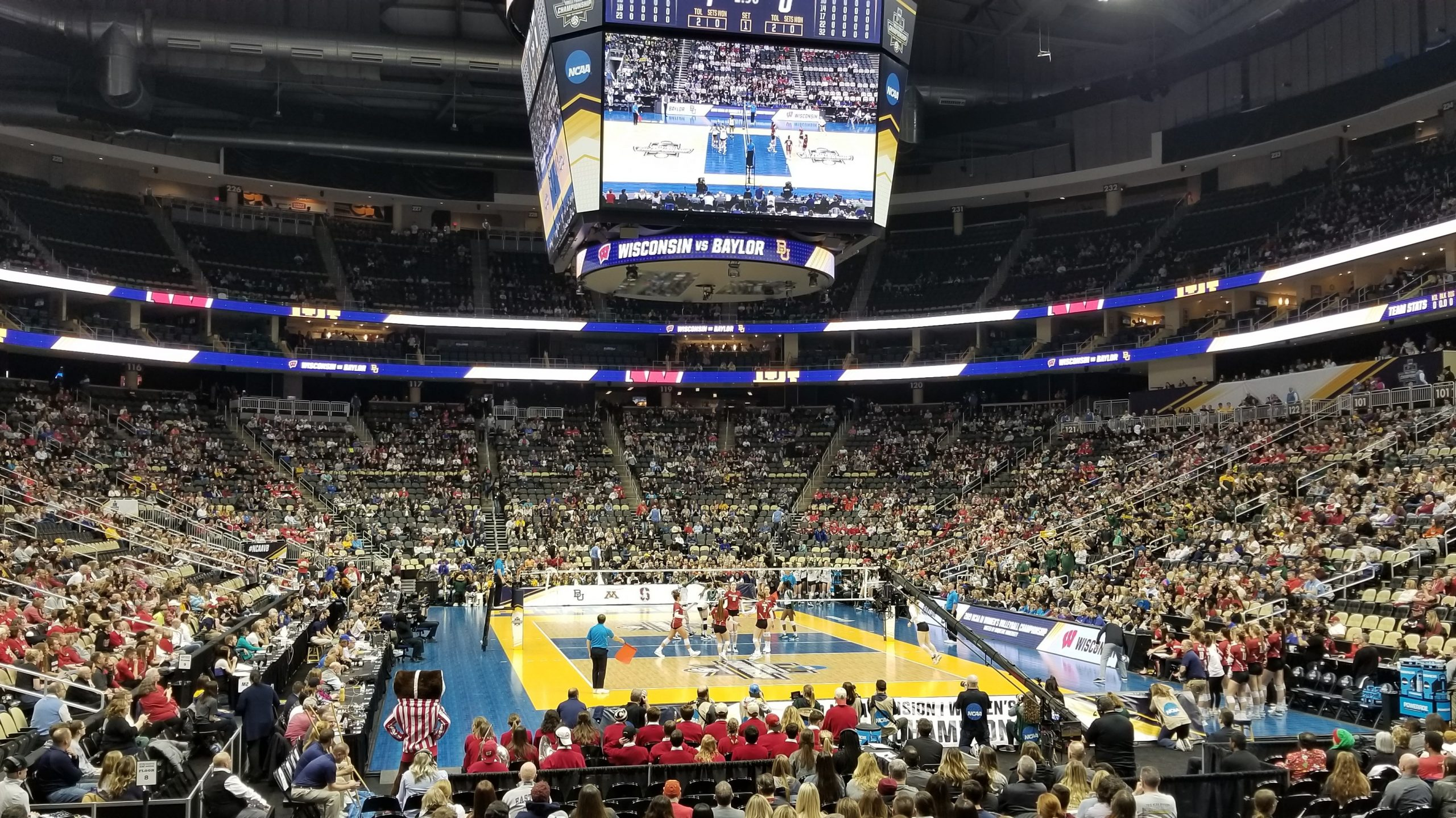 NCAA Semifinals in Pittsburgh