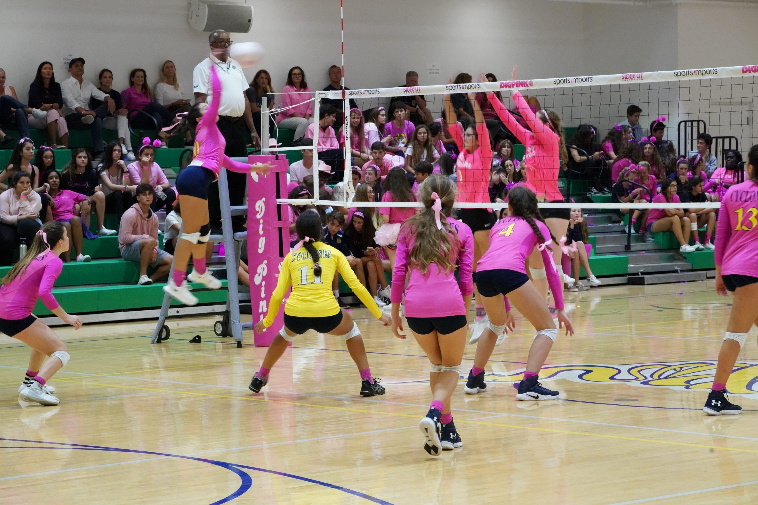 Carrollton Dig Pink Match