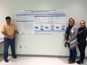 Chip Petricoin, Mariaelena Pierobon, Alex Reeder with Side-Out poster