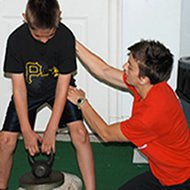 Guest blog post Kelsey Strength Training for Youths boy with Kelsey