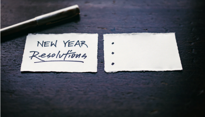 New Year 2021 resolutions